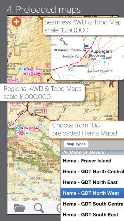 4WD Maps | Hema Australia Offline and Offroad GPS Navigation with 4x4 Touring Maps screenshot-3