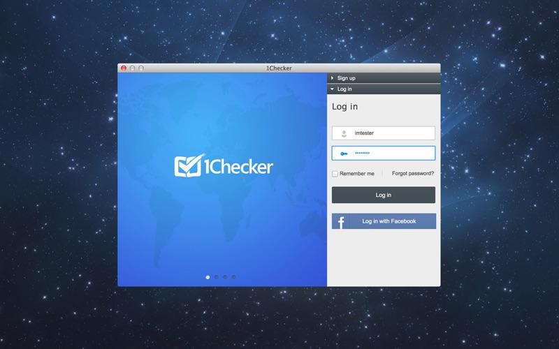 1Checker Screenshot