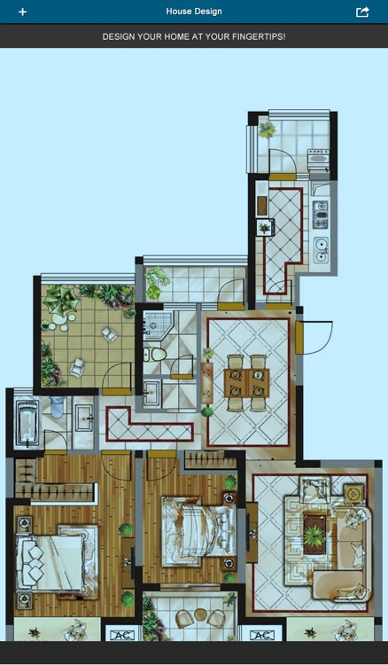 Home Office Design 3D- floor plan & draft design