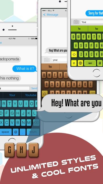 My Fancy Keyboard Themes - Colorful Keyboards for iPhone,iPad & iPod screenshot-3