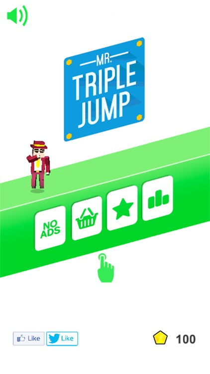Mr Triple Jump 3D screenshot-0