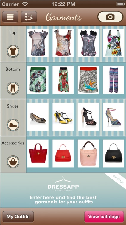 DressApp - Your fashion pocket closet with all your clothes,shoes,bags,outfits,model,style,moda & Fashion shops!