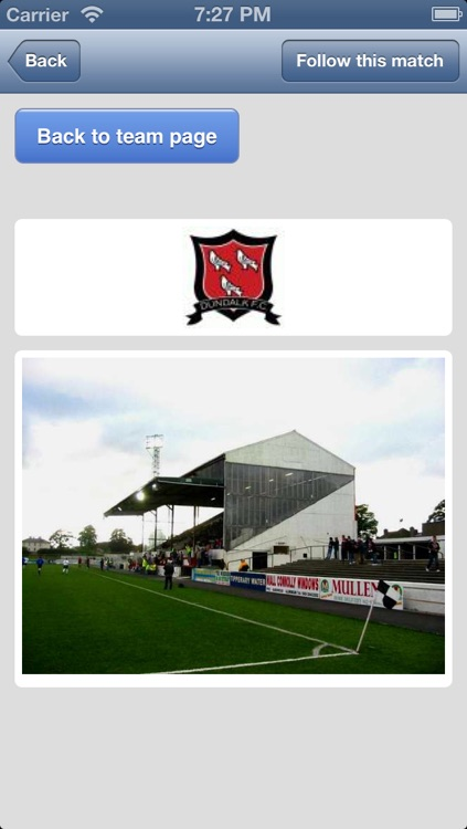League of Ireland.