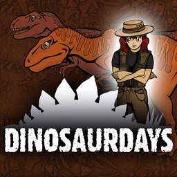 DinosaurDays An animated learning app about dinosaurs Produced by Distant Train (Full Version)