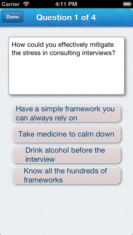 Case Cracker – Consulting Case Interview Preparation Using Only One Framework screenshot-4