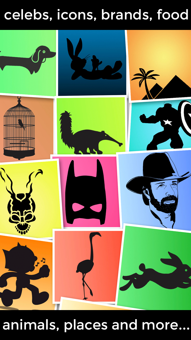 Guess the Shadow - Trivia Quiz Game