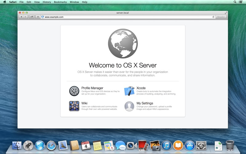 OS X Server 3.2.2 скриншот программы 2