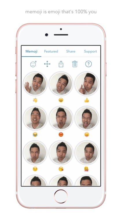 Memoji Keyboard - Animated Selfie Emoji