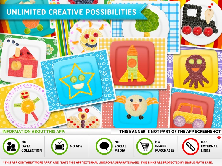 Cute Food - Creative Fun with Fruits and Vegetables, Healthy and Funny Meals for Kids screenshot-4