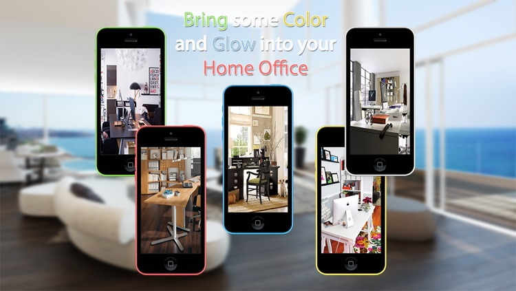 Home Office Design Ideas HD screenshot-2