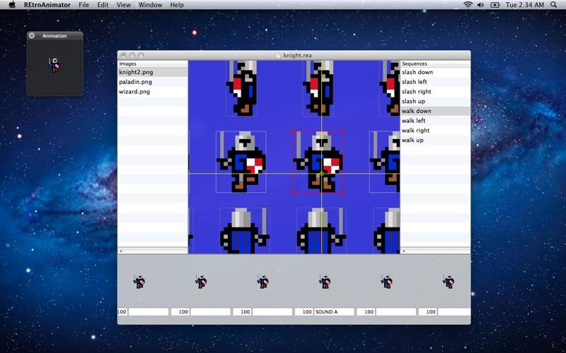 Retroanimator review screenshots