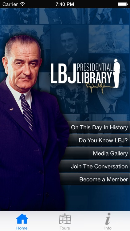 LBJ Presidential Library screenshot-0