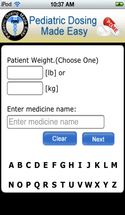 Pediatric Dosing Made Easy (PDME) screenshot-3