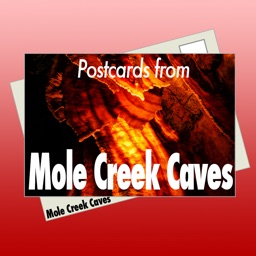 Postcards from Mole Creek Caves