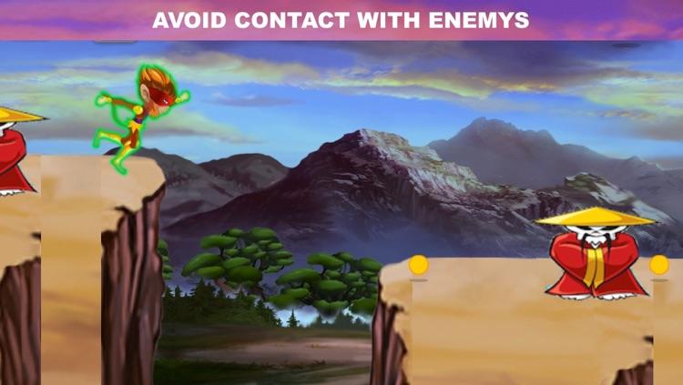 Angry Ninja Chimp Run - Jungle Adventure screenshot-3