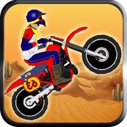 Motocross super rally - The motor bike desert race - Free Edition
