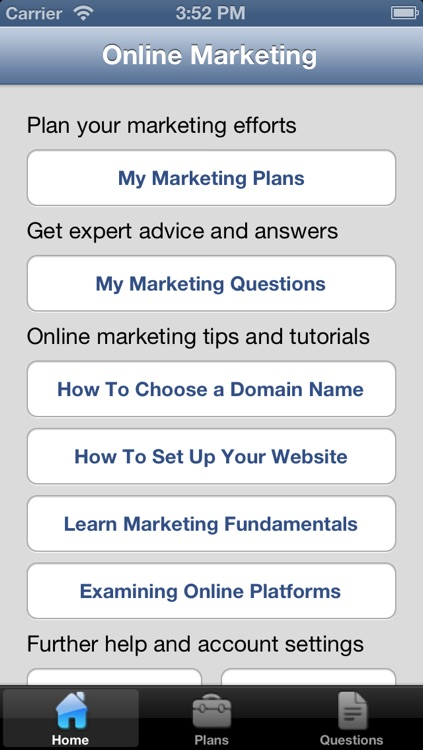 Online Marketing & Advertising Strategy screenshot-0
