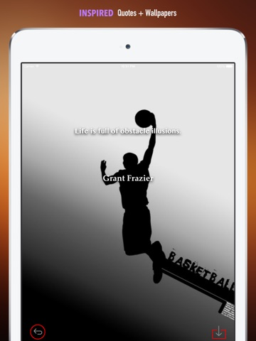 Screenshot 5 For Cool Basketball Wallpapers HD Quotes Backgrounds With Sports Pictures