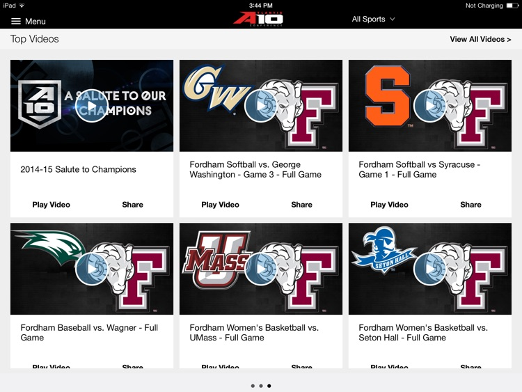 Atlantic 10 for iPad 2015 screenshot-3