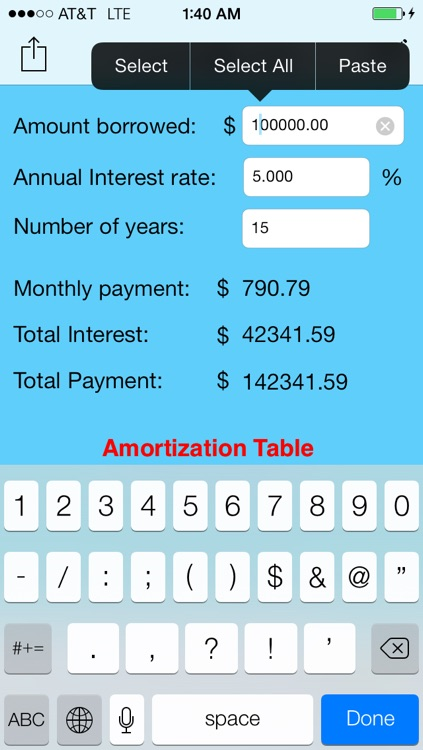 simple loan calculator by clean micro  llc