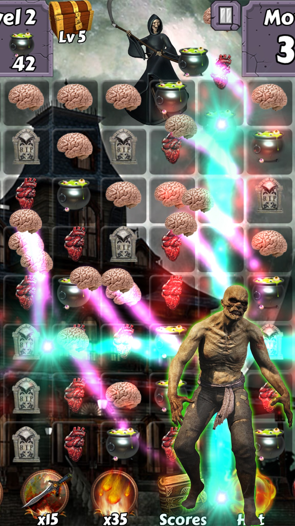 Zombie Mania Halloween World – Free puzzle games for trick or treat Cheat Codes