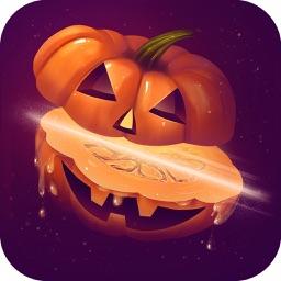 Halloween Pumpkin Slice