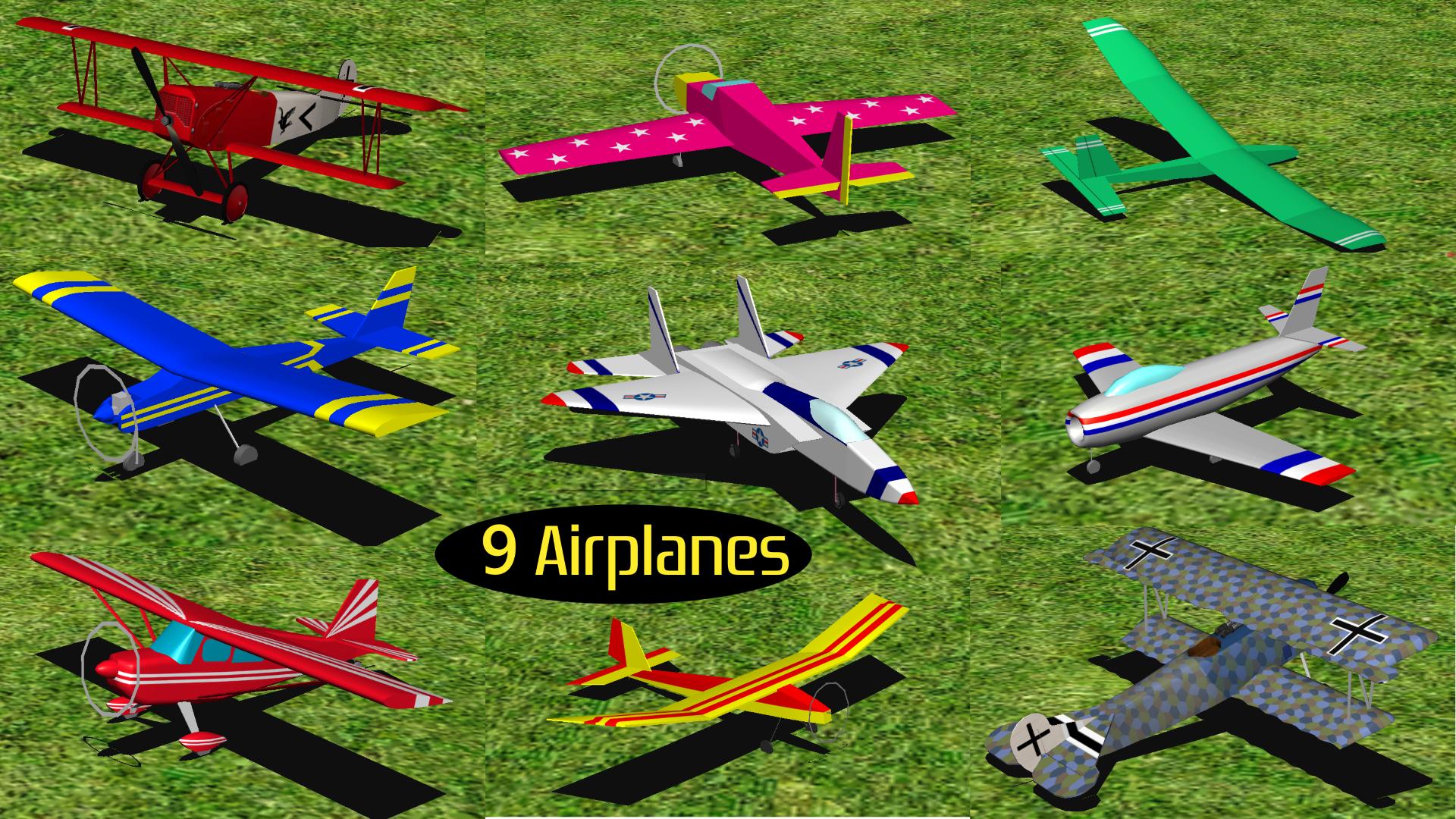 RC-AirSim - RC Model Airplane Flight Simulator screenshot 2