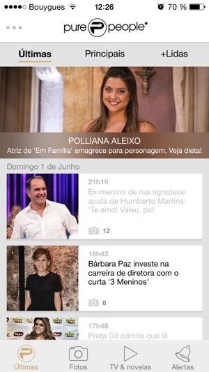 3d5f41504 Purepeople Brasil: últimas notícias dos famosos na App Store