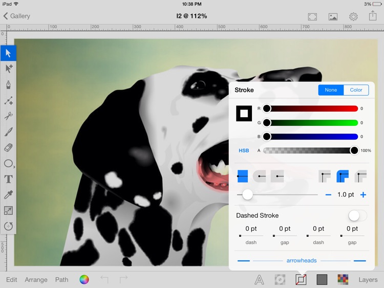 Inkbot - Inspiring Vector Graphics Editor screenshot-0