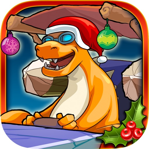 Christmas Dinosaur Race Adventure Pro