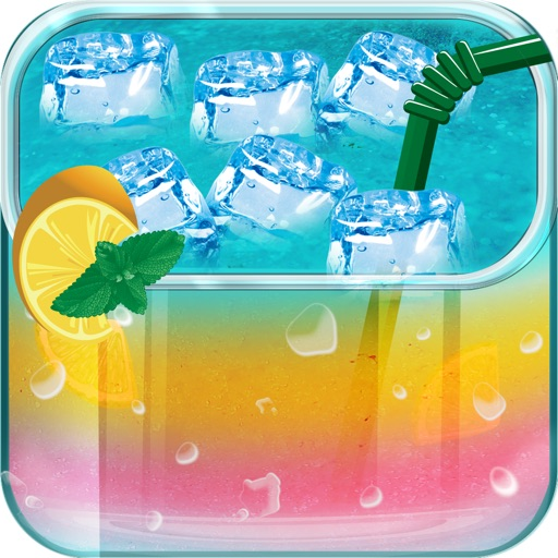 Cocktail Ice & Iced Drinks Maker - Kids Games icon