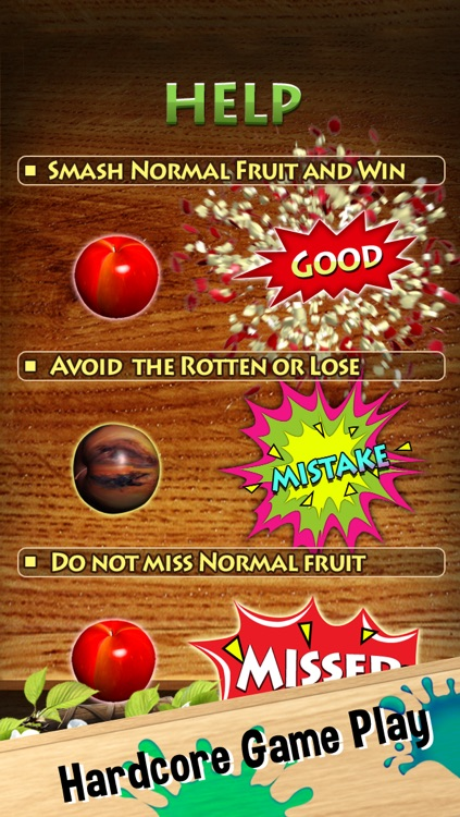 Hammer Fruit - Free Smash Kids Game for iPhone, iPad and iPod touch screenshot-3