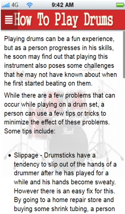 How To Play Drums+: learn how to play drums the easy way screenshot-4