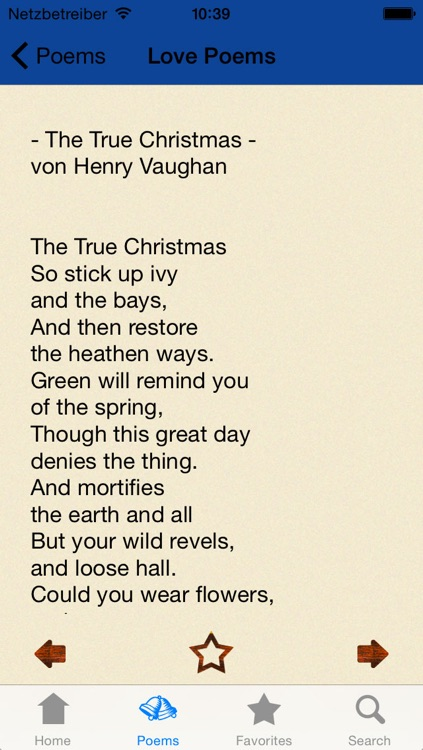 Holiday & Christmas Poems in English and German screenshot-3