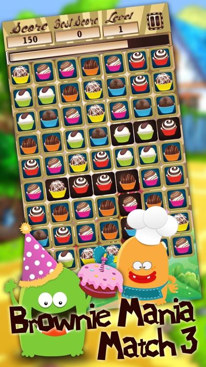Brownie Mania Match 3 screenshot-3