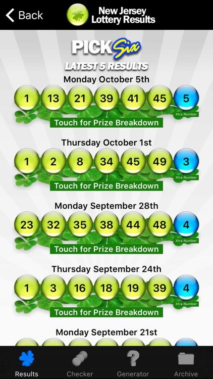 NJ Lottery