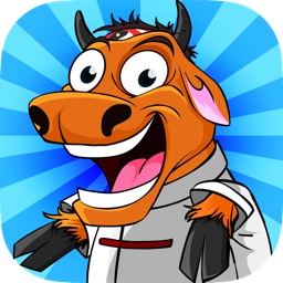 Kung Fu Cow – Run, Jump and Dash with Clumsy Sensei Goat and Nick Piggy