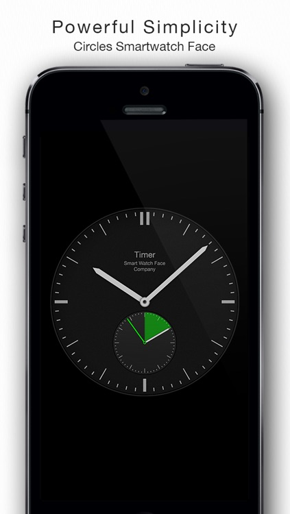 Circles - Smartwatch Face and Alarm Clock