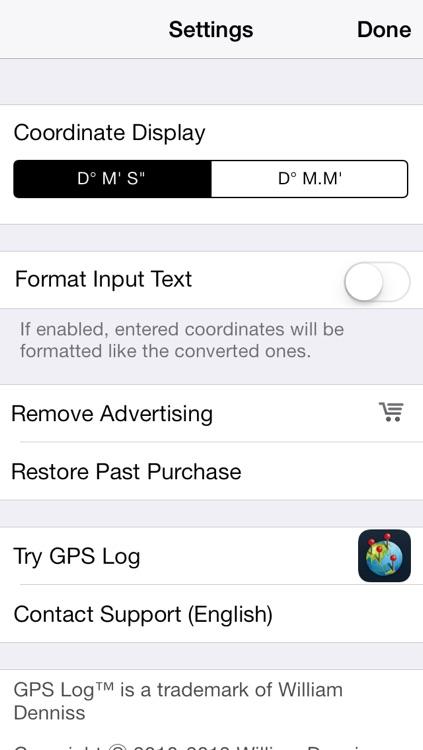 DMS Converter screenshot-4