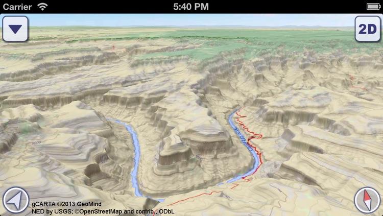 US National Parks 3D Maps screenshot-4