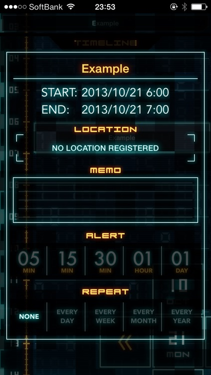 Flashback - Sci-Fi Style Calendar screenshot-4