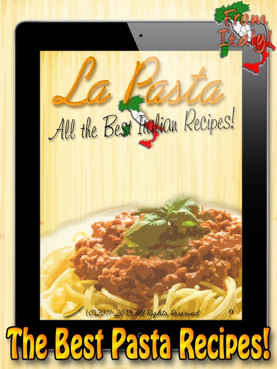La Pasta HD – The Best Recipes screenshot-0
