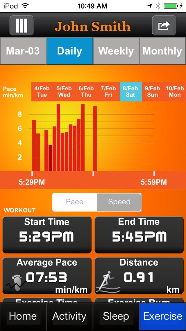 Outbound Smart Gear 1 screenshot four