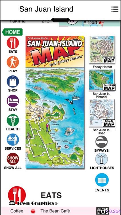 TownGraphics ~ San Juan Islands