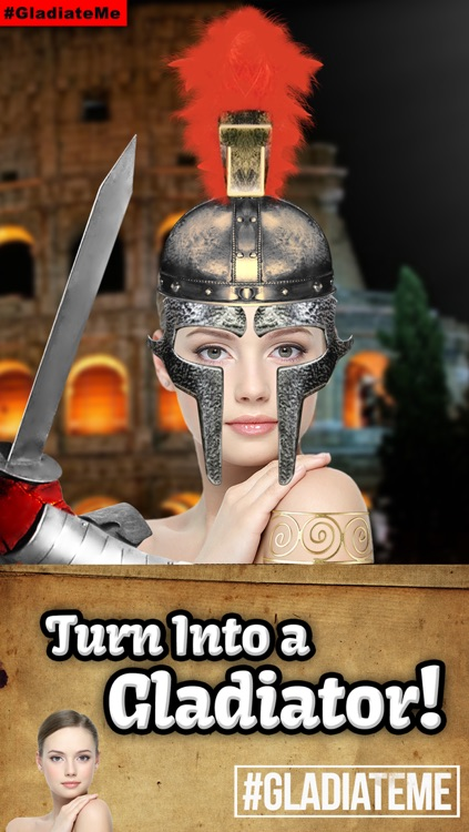 Gladiate Me: Turn Yourself Into A Gladiator or Spartan (A New Photo Editor and Sticker Booth)  #GladiateMe