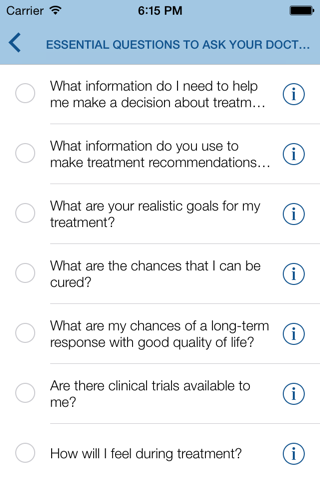 Pocket Cancer Care Guide - náhled