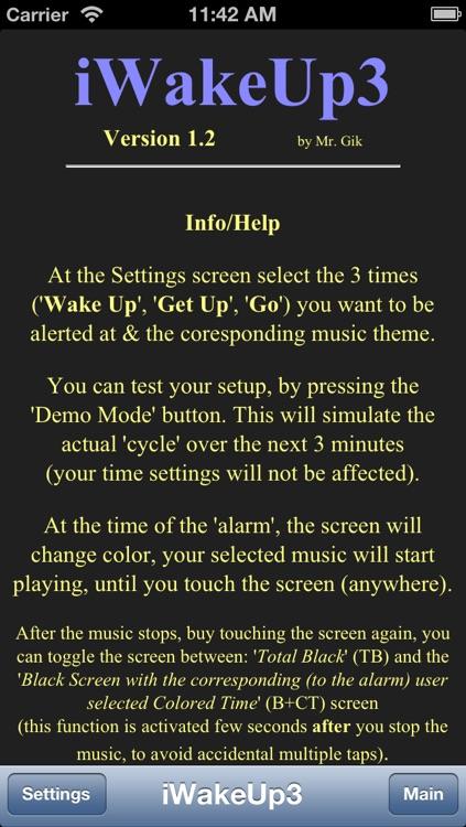 iWakeUp3 screenshot-3