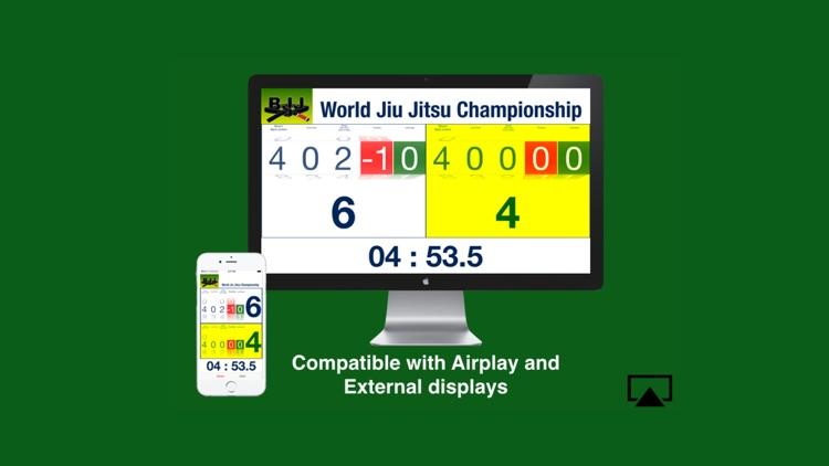 BJJ Scoreboard