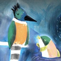 El Salmón y El Martín Pescador