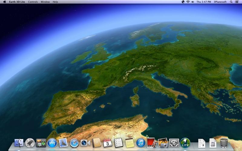 Screenshot #2 for Earth 3D Lite